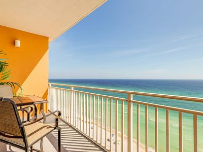 Photo for Kid-friendly beachfront resort condo w/ pools, seasonal beach service & more!