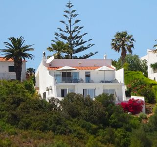 Photo for Beatiful villa with private pool, gardens, glorious sea views & Wi Fi