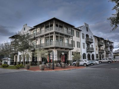 Photo for Perfectly Located Condo Downtown Rosemary Beach FL