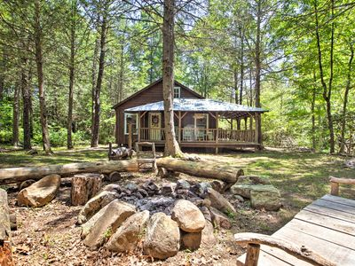 Photo for Modern Cabin Retreat on 10 Acres w/ Trout Stream!