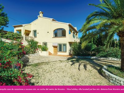 Photo for HOUSE FOR 8 PEOPLE, PRIVATE POOL, AIR CONDITIONING, CLOSE TO MORAIRA