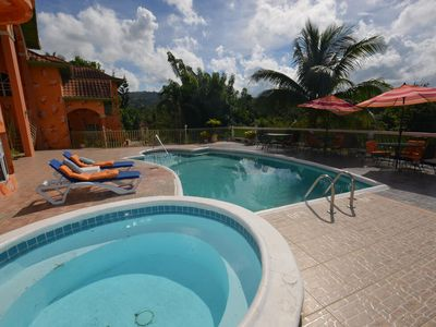 Photo for LARGE MANSION! FAMILY REUNIONS! WEDDINGS! Dream Castle Villa, Montego Bay 9BR