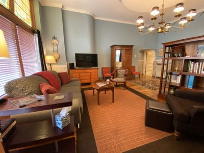 Welcome to the Ullrich Suite, in St. Louis' historic Tower Grove East neighborhood.