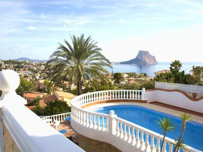 Photo for Vacation home Lydia  in Calpe/ Calp, Costa Blanca - 8 persons, 4 bedrooms