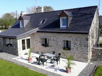 Photo for Charming house located 2 km from the village of Plozévet