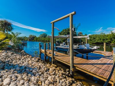 Photo for Beautiful Waterfront Coconut River Home With Gulf Access