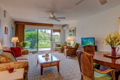 Lovely upgraded and spacious one bedroom condominium.