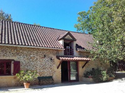 Photo for 2 bedroom Villa, sleeps 5 in Brégegere with Pool and WiFi