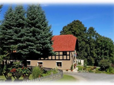 Photo for Holiday apartment Hainewalde for 1 - 6 persons with 2 bedrooms - Multistorey holiday home/maisonette