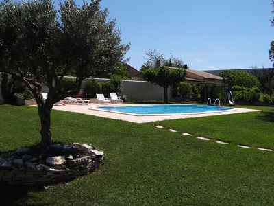 Photo for SUPERB VILLA 140m² with SWIMMING POOL - 6 PEOPLE + 1 BABY - FULLY CLIMATE