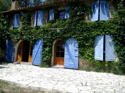 Photo for Provencal country house in the heart of the green provence