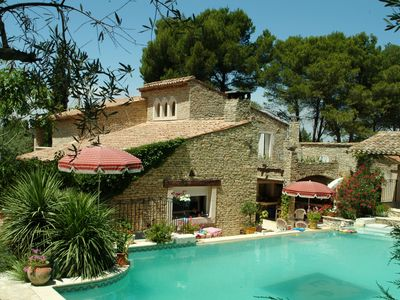 Photo for Prestigious property with private pool, in the Alpilles Natural Park