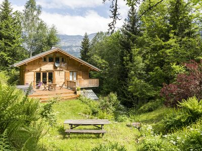 Photo for Private Chalet With Large Garden And Mountain Views