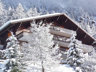 Photo for 3 bedroom Apartment, sleeps 6 in Champex with WiFi