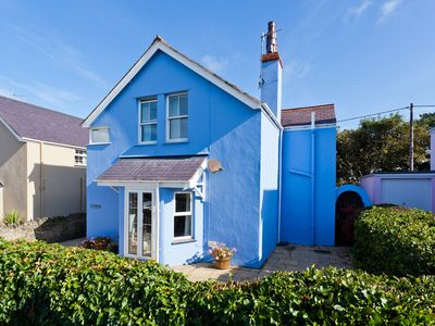 Photo for Detached family holiday home with enclosed garden just moments from the beach.