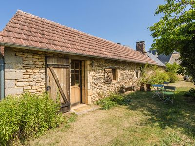 Photo for Come unwind in a 17th-century farmhouse and enjoy the natural surroundings and a beautiful pool