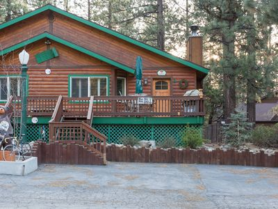 Photo for Summit Cabin Unit B with Hot Tub! steps to trails and skiing