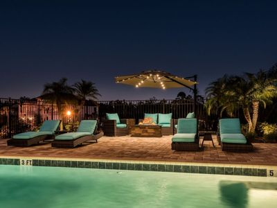 Photo for First Class Designer Home/Private Pool and Spa/4 miles to Disney/Stunning!