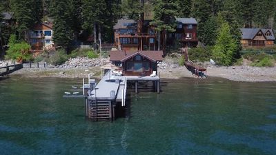 Photo for Boater's Paradise -  Lakefront Home with Hot Tub, Pier, and Buoy  - Dogs OK!