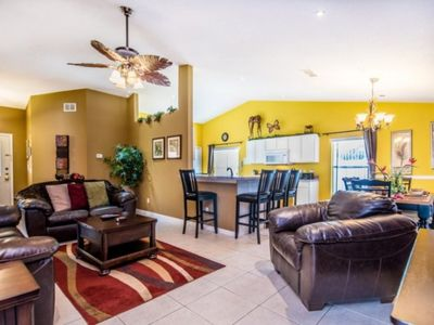 Photo for Private pool with a spa and an amazing kids play room !