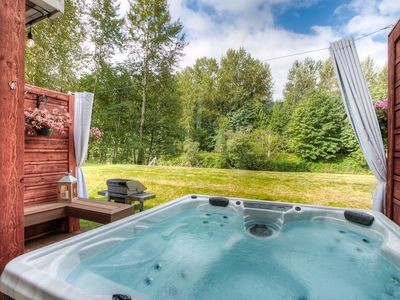 Photo for Free cancel anytime. Moon River Suites 3 - on River, Private Hot Tub, Downtown