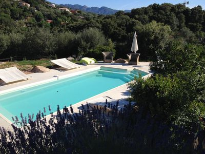 Photo for Luxury villa with pool Garden with trees Wifi free linen provided
