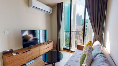 Photo for BRAND NEW!!【Noble Recole; Condo】Modern 1BR ∎F/FURN∎BTS Asoke ∎MRT Sukhumvit
