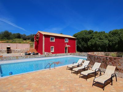 Photo for Casa Margarida, Farm Cottage, Wine & Art Estate, 2 Bedroom, Large Pool, terrace and BBQ