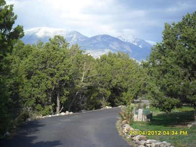 Mountain View from the Front Yard
