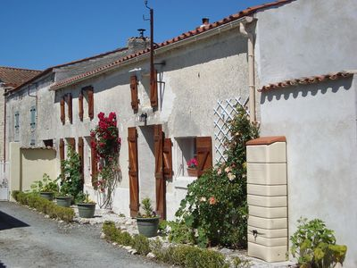 Photo for Beautifully Restored House 30 minutes from a long sandy beach and La Rochelle.