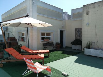 Photo for APARTMENT, LOFT WITH TERRACE