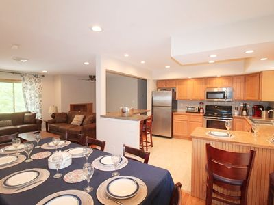 Great room:  kitchen, dining and living room