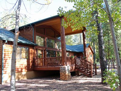 Photo for 3 Bed/ Loft/ 2.5 Bath in Pinetop Country Club. Family/ Entertaining Retreat