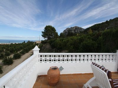 Photo for Finca in the mountains of Segaria - private pool, ideal for bike and hiking