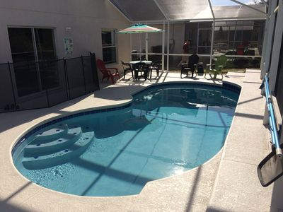 Beautiful  Home w/Private  pool, quiet & gated , WiFi - mins from Disney