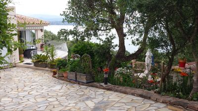 Photo for Porto vecchio, Very nice villa with all comfort, stunning sea view
