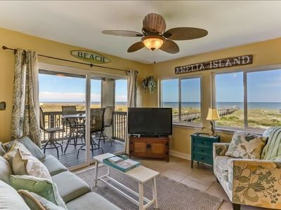 Photo for Beautiful Oceanfront unit, beautiful ocean views.  New to program, just waiting for you!