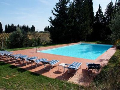 Photo for large comfortable apartment in Farmhouse halfway between Firenze and Siena
