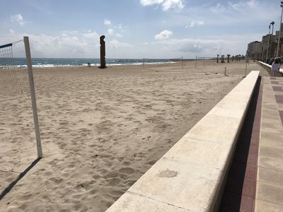 Photo for Apartment renovated nine minutes from the beach