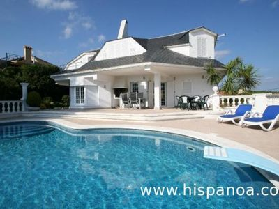 Photo for Beautiful villa with sea views planned for a capacity of 9 people