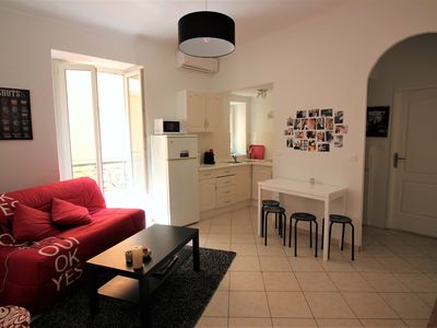 Photo for Sunny apartment/ Carré d'or Nice / 4 people