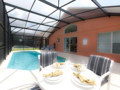 Photo for Adventure Quest-4BR Pool Home minutes from Disney