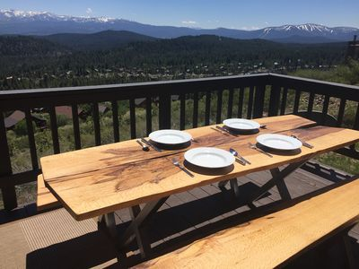 Photo for Top of the World VIEWS. Hike/Bike/Ski Tahoe Donner