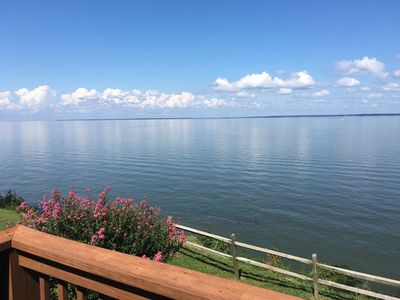 Unobstructed WATERFRONT View off of back deck