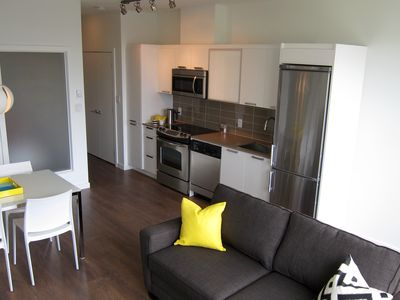 "Photo for ""Lotus Loft"" Condo From $160.00 CAD / night, sleeps up to 4"