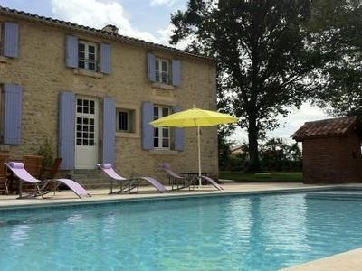 Photo for Bourgeois Family House 13 Persons + baby pool