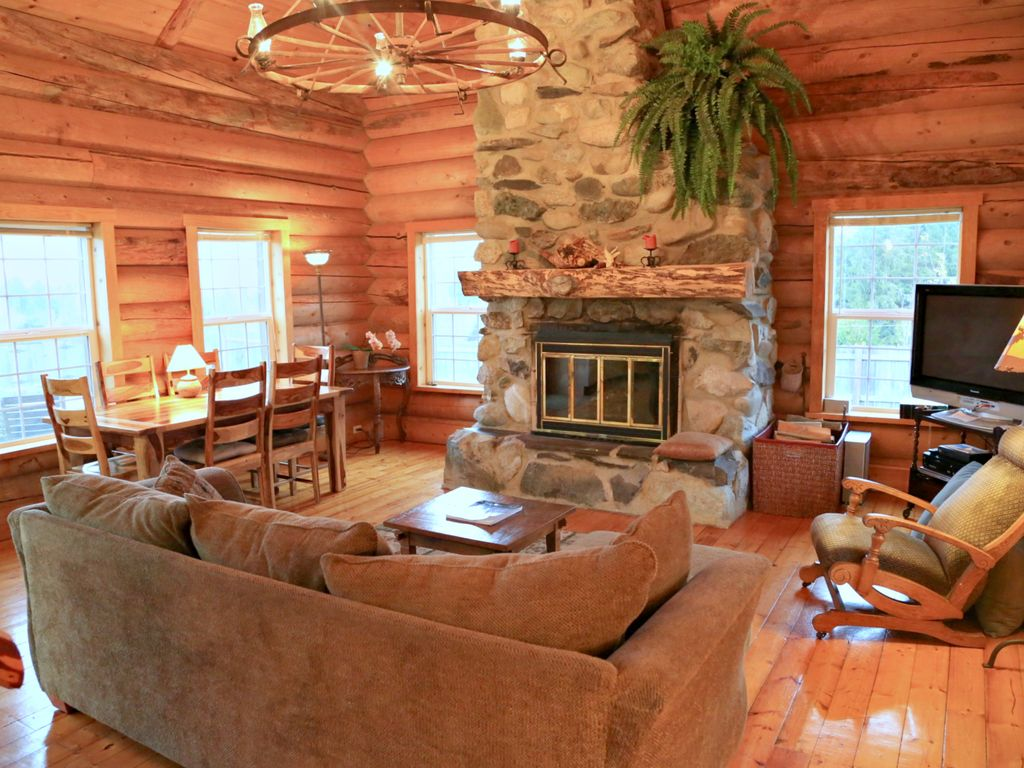 n w style log cabin gorgeous olympic mt vrbo
