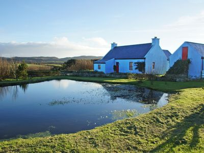 Photo for Detached farmhouse in quiet secluded setting on the slopes of Knocknamaddree and enjoying far…