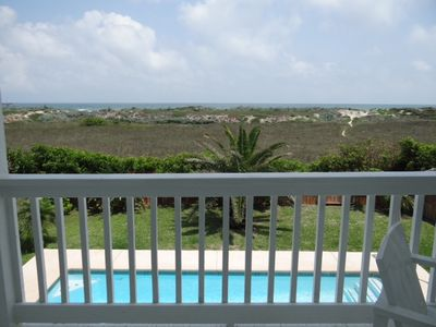 Photo for Beach Front Home located in ' Old Town ' Port Aransas Texas