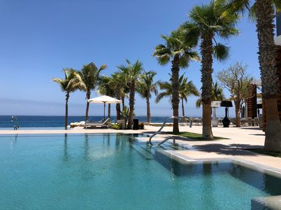 Photo for LUXURY 2 BEDROOM SUITE IN GARZA BLANCA 5-STAR DIAMOND  RESORT CABO 1,980 Sq Ft